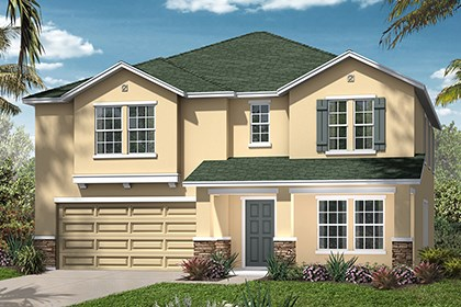 New Homes in Jacksonville, FL - Elevation D