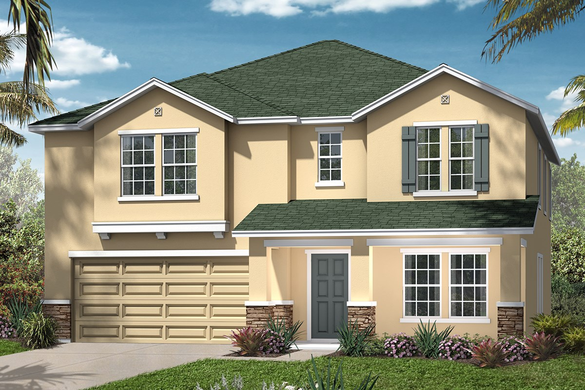 New Homes in Jacksonville, FL - Chandlers Crossing The Carrington