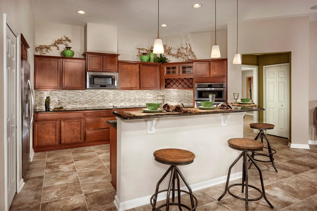 New Homes in Clay County, FL - Angora Bay The Hayden Kitchen