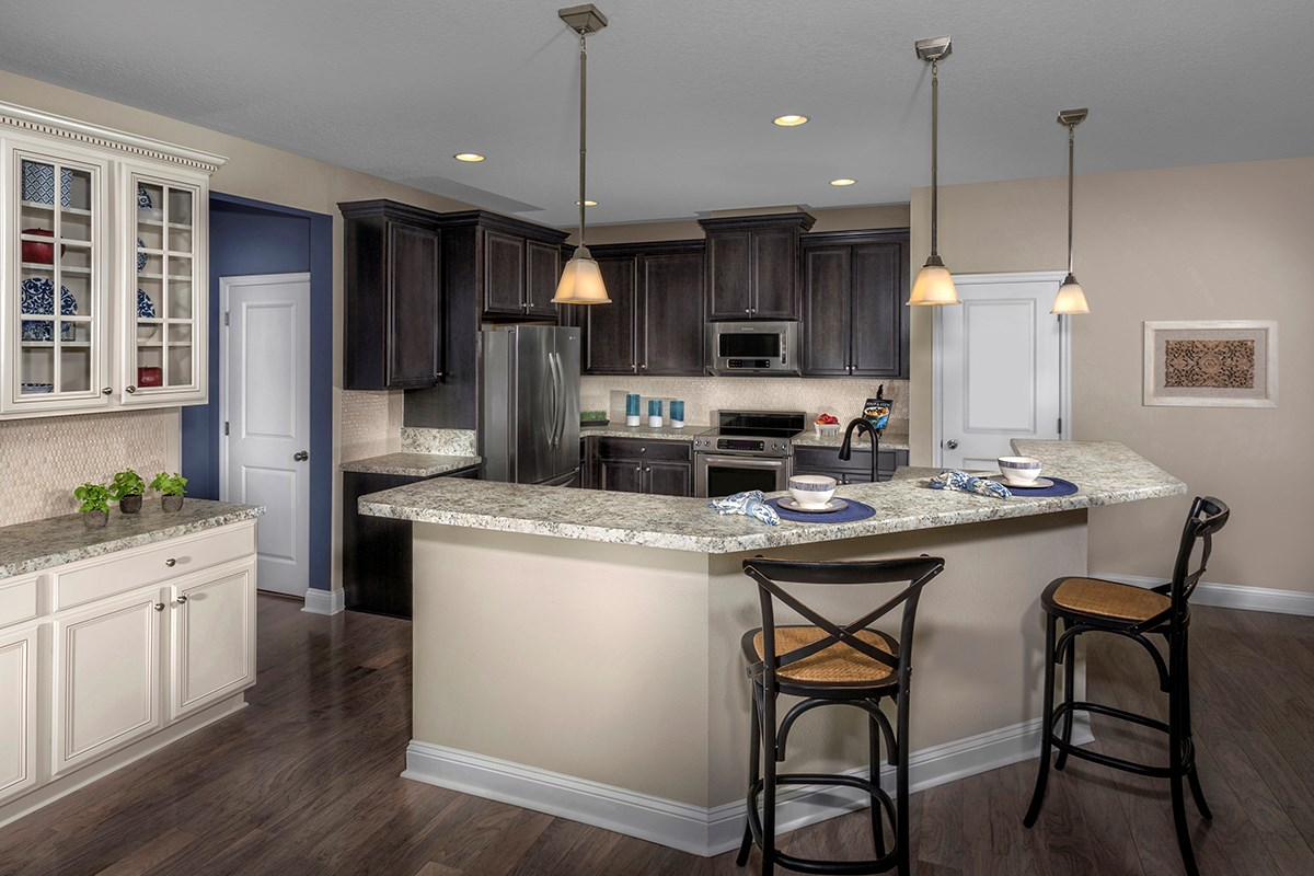 New Homes in Clay County, FL - Angora Bay The Carrington Kitchen