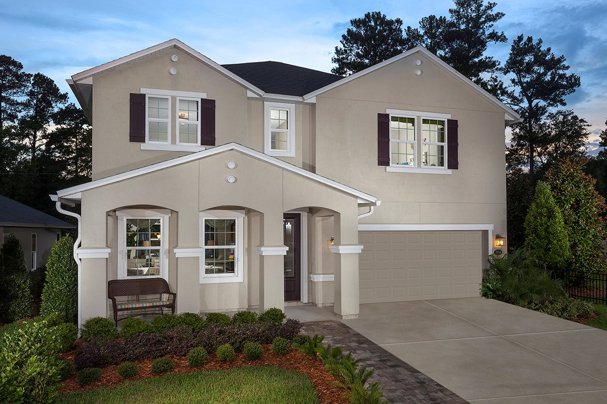 New Homes in Clay County, FL - Angora Bay The Carrington
