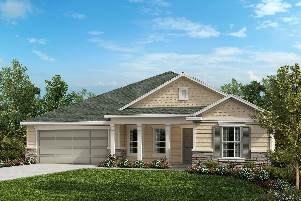 New Homes in Ormond Beach, FL - Estates at Ashford Lakes The Chandler