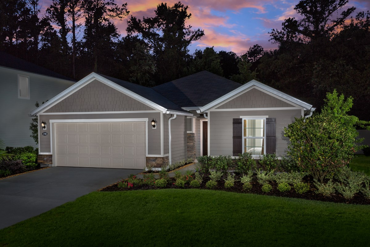 New Homes in Jacksonville, FL - Avery Park The Captiva