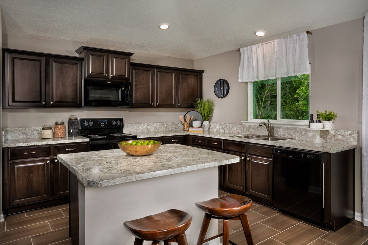 New Homes in Jacksonville, FL - Avery Park The Captiva Kitchen