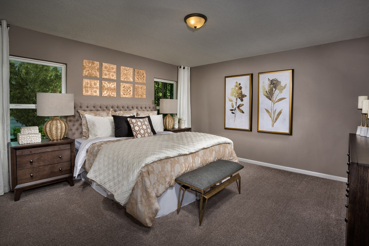 New Homes in Jacksonville, FL - Avery Park The Captiva Master Bedroom