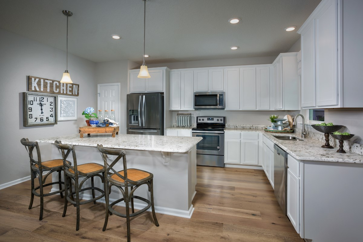 New Homes in Jacksonville, FL - Avery Park The Camden Kitchen