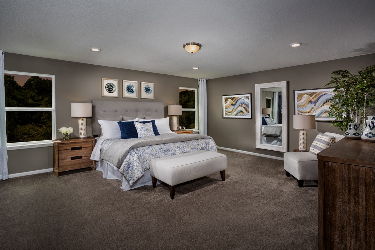 New Homes in Jacksonville, FL - Avery Park The Camden Master Bedroom