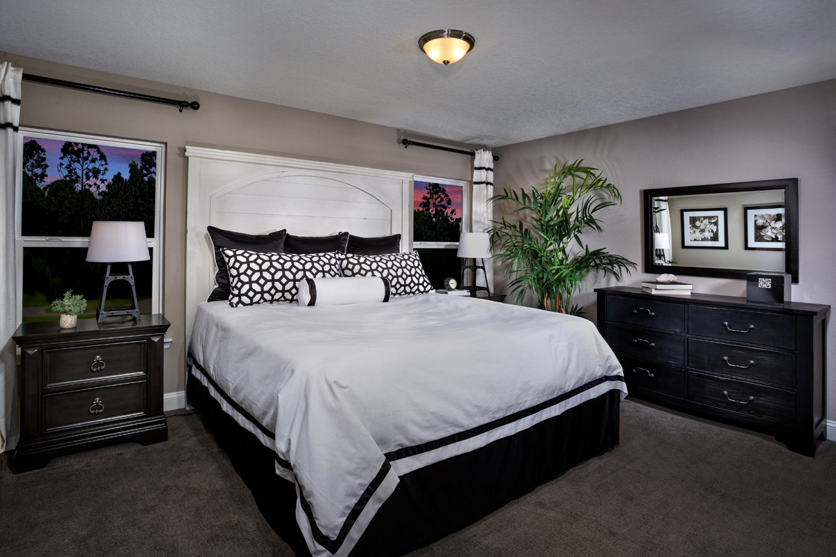 New Homes in Jacksonville, FL - Bartram Creek - Classic Series The Darby Master Bedroom