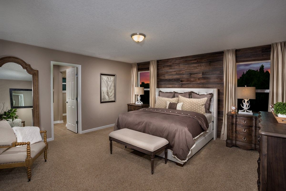 New Homes in Jacksonville, FL - Bartram Creek - Classic Series The Savannah Master Bedroom