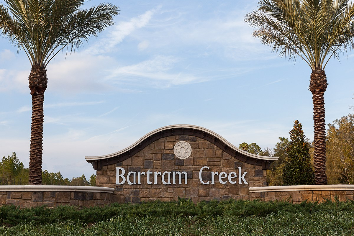New Homes in Jacksonville, FL - Bartram Creek - Executive Series Community Entrance