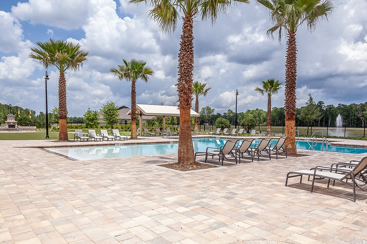 New Homes in Jacksonville, FL - Bartram Creek Community pool