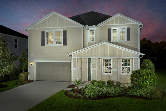 New Homes in Jacksonville, Florida by KB Home