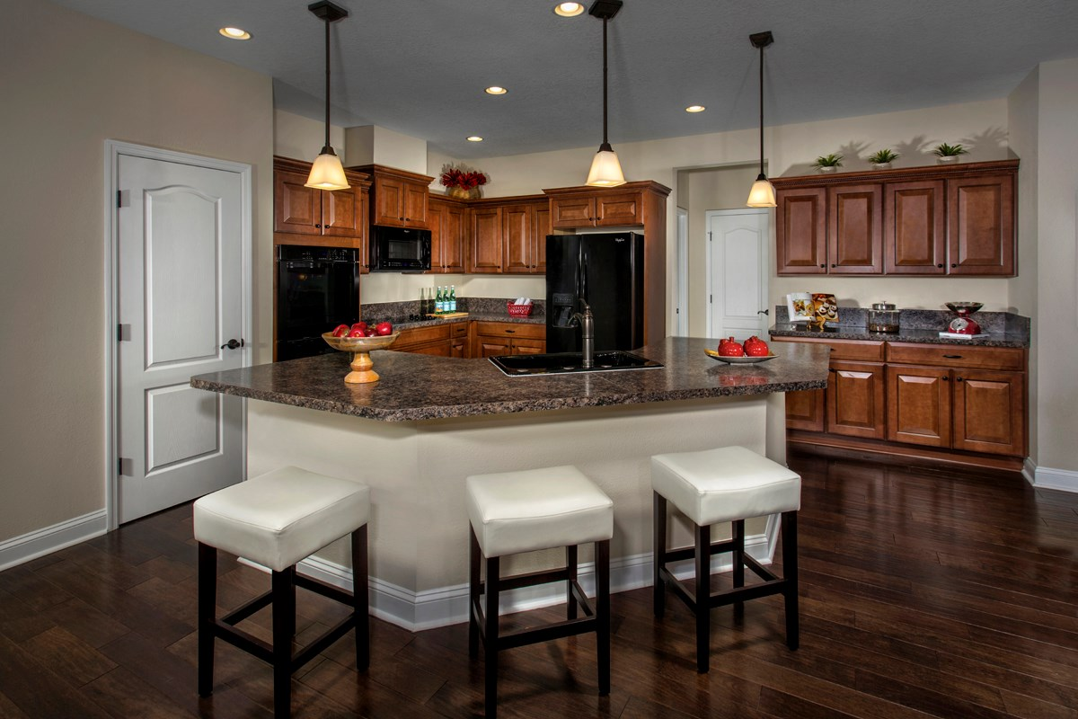 New Homes in Jacksonville, FL - Bartram Creek - Executive Series The Carrington Kitchen