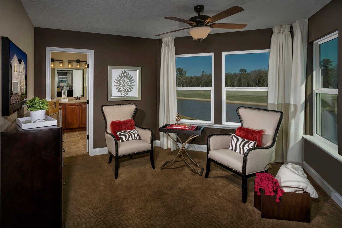 New Homes in Jacksonville, FL - Bartram Creek - Executive Series The Carrington Master Bedroom Retreat
