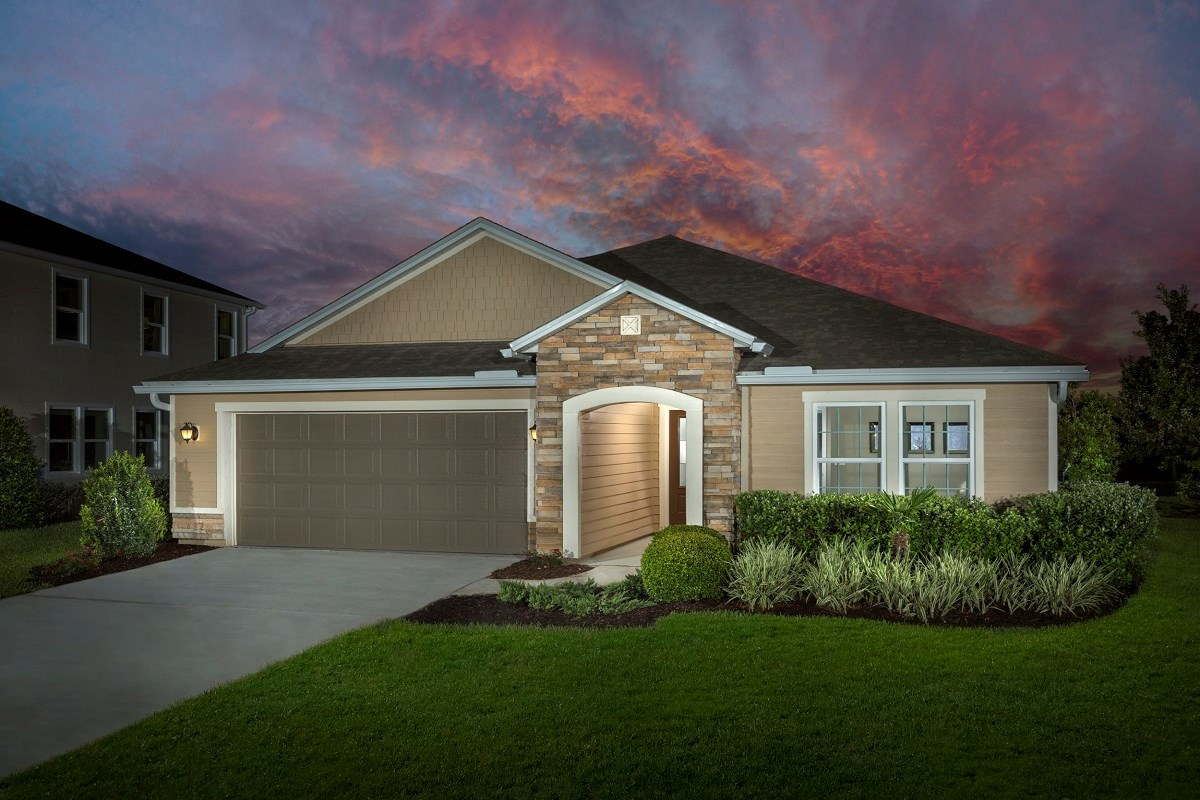 New Homes in Jacksonville, FL - Bartram Creek - Executive Series The Hayden