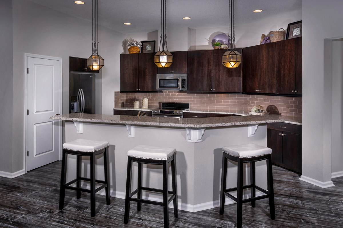 New Homes in Jacksonville, FL - Bartram Creek - Executive Series The Hayden Kitchen