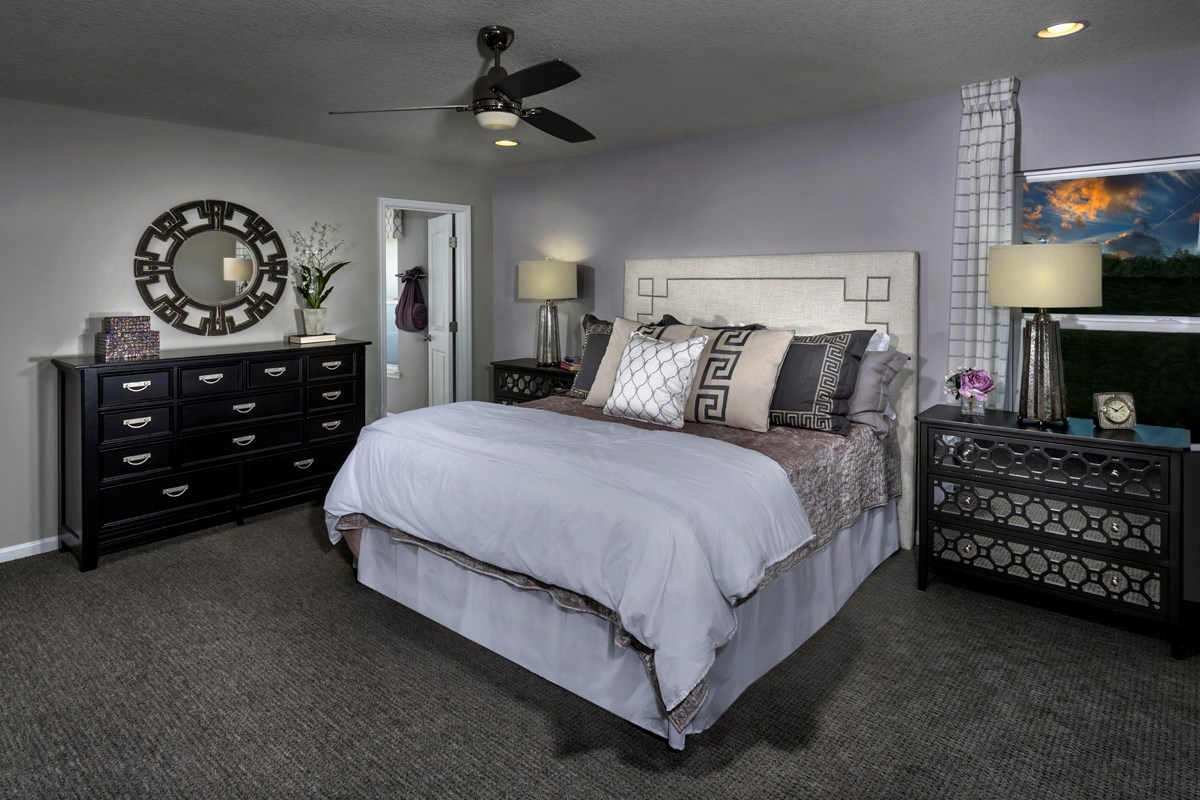 New Homes in Jacksonville, FL - Bartram Creek - Executive Series The Hayden Master Bedroom