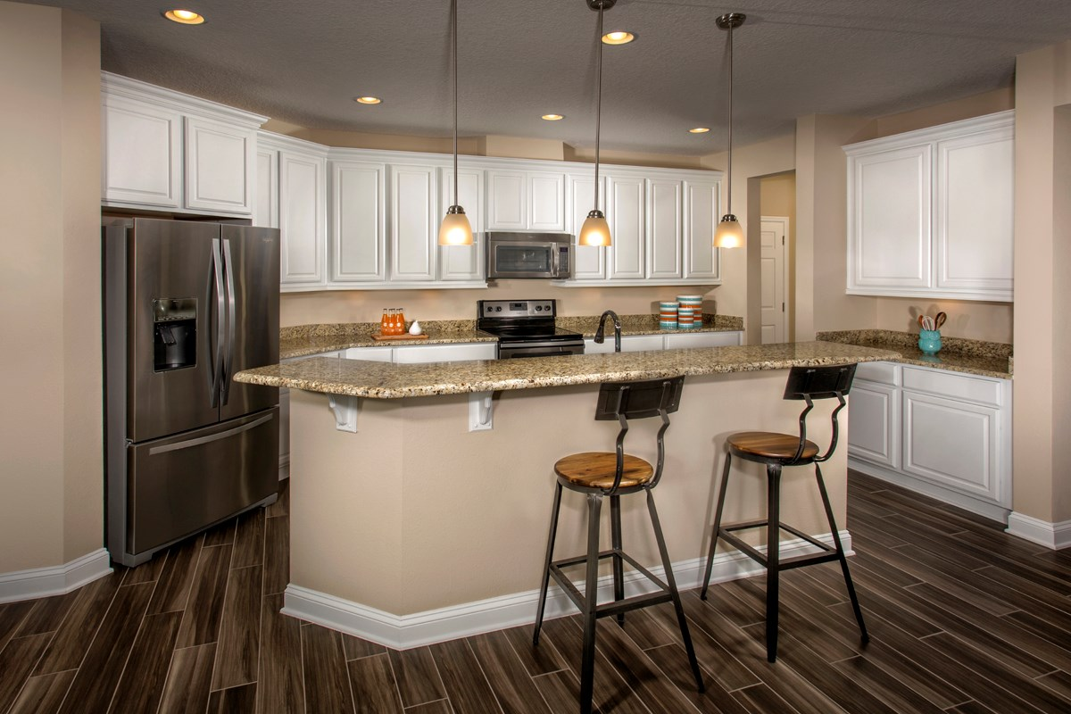 New Homes in Jacksonville, FL - Bartram Creek - Executive Series The Laurel Kitchen
