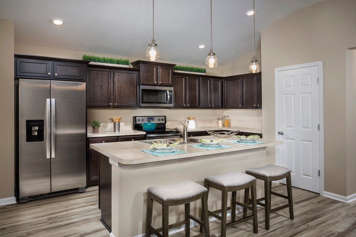 New Homes in St. Augustine, FL - Castine Cove The Darby Kitchen
