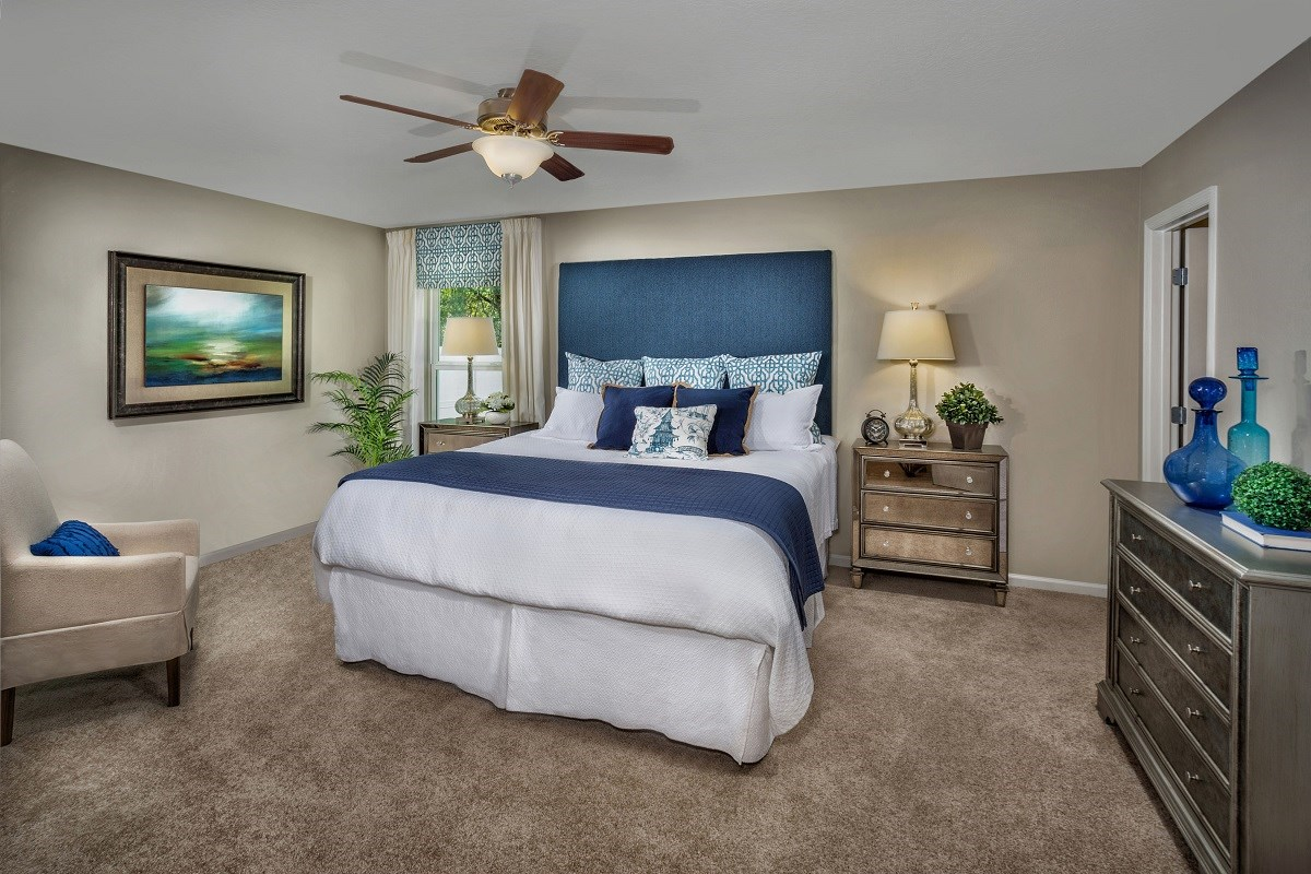 New Homes in Jacksonville, FL - Chandlers Crossing The Hayden Master Bedroom