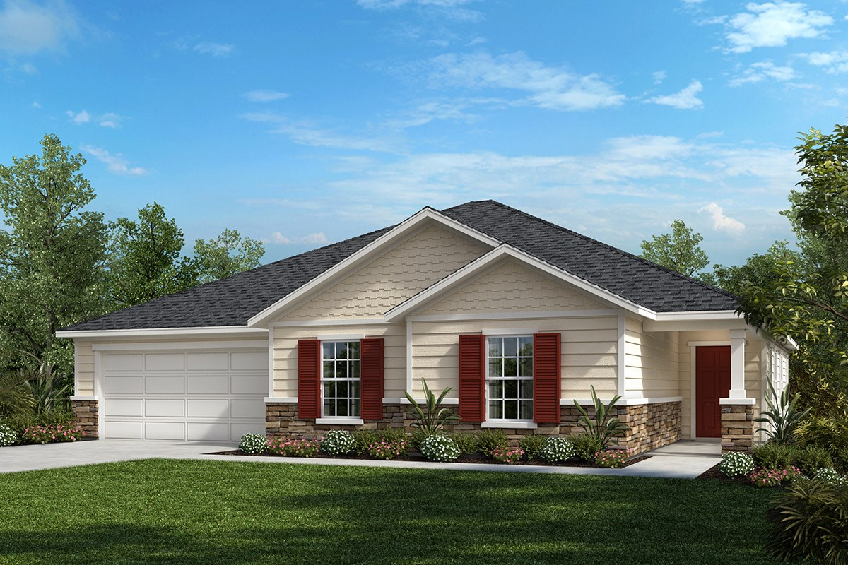 New Homes in St. Johns County, FL - Coastal Village The Dalton