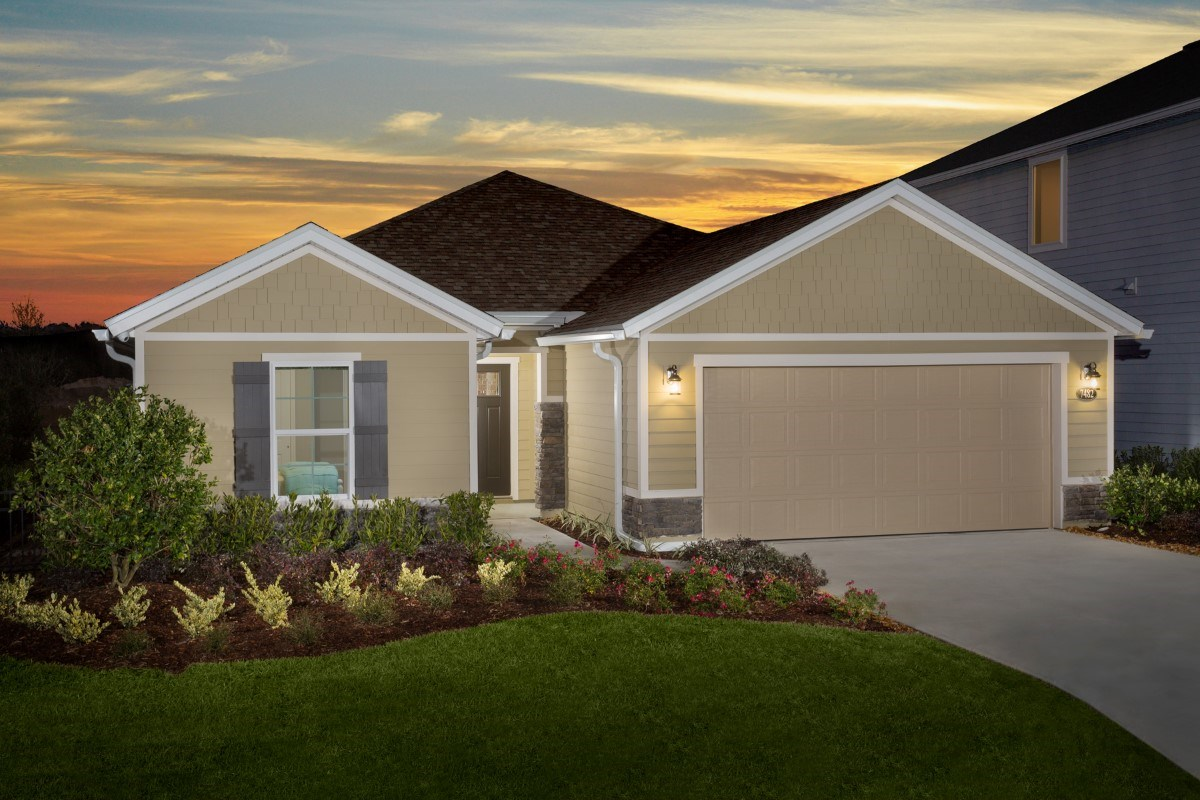 New Homes in Jacksonville, FL - Copperleaf The Captiva
