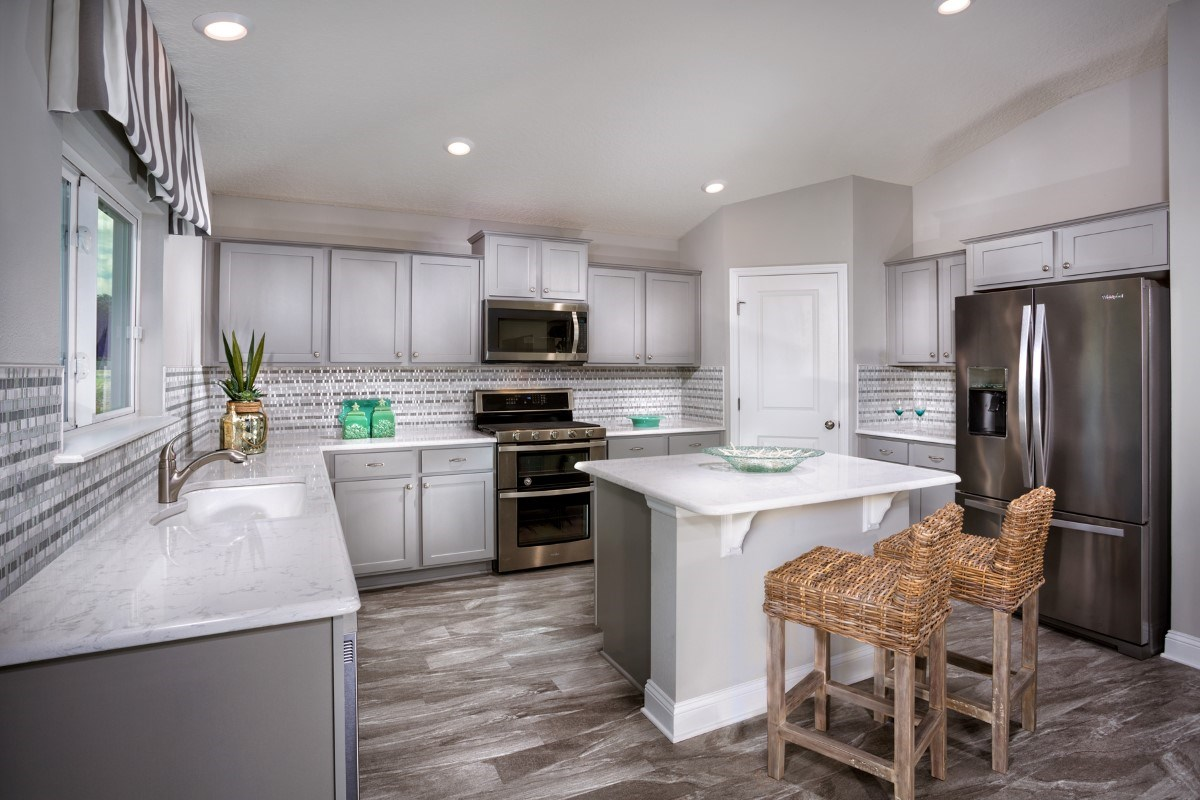New Homes in Jacksonville, FL - Copperleaf The Captiva Kitchen
