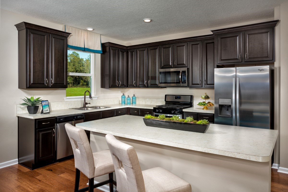 New Homes in Jacksonville, FL - Copperleaf The Camden Kitchen