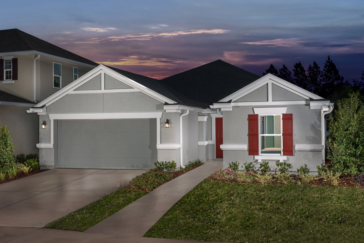 New Homes in Orange Park , FL - Forest Hammock at Oakleaf Plantation The Captiva
