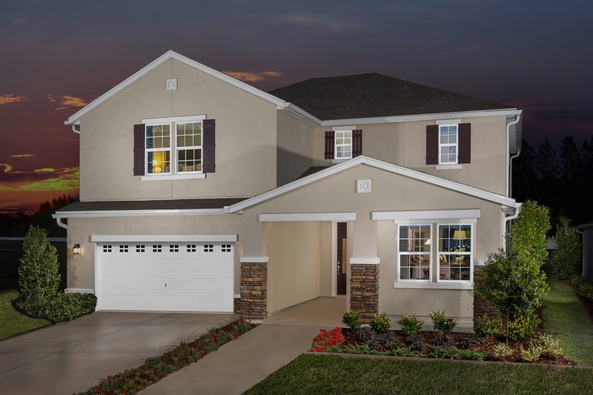 New Homes in Orange Park , FL - Forest Hammock at Oakleaf Plantation The Hawthorne