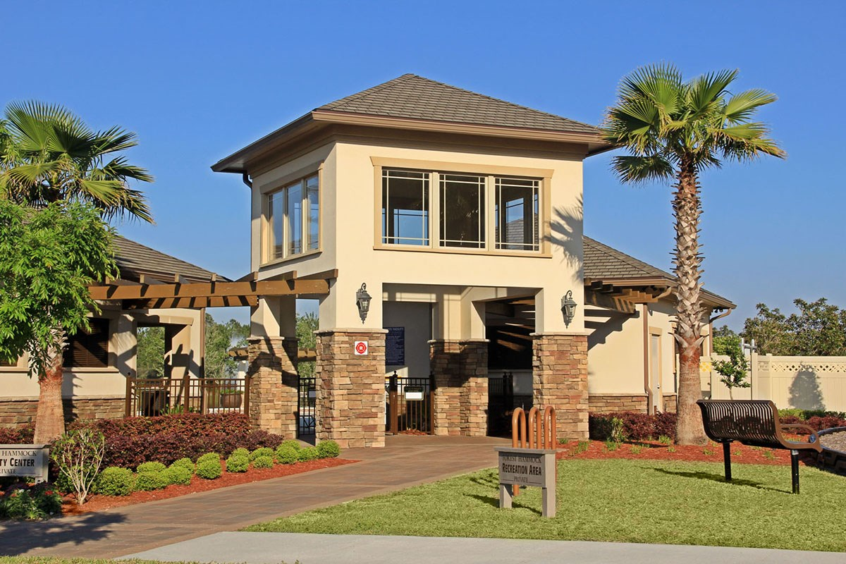 New Homes in Orange Park , FL - Forest Hammock at Oakleaf Plantation Pavilion