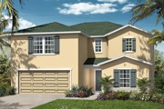 New Homes in Orange Park , FL - The Hawthorne Modeled