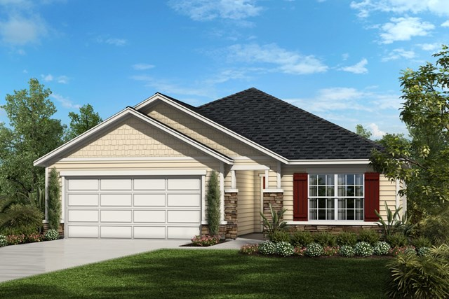 New Homes in Orange Park , FL - Shingle