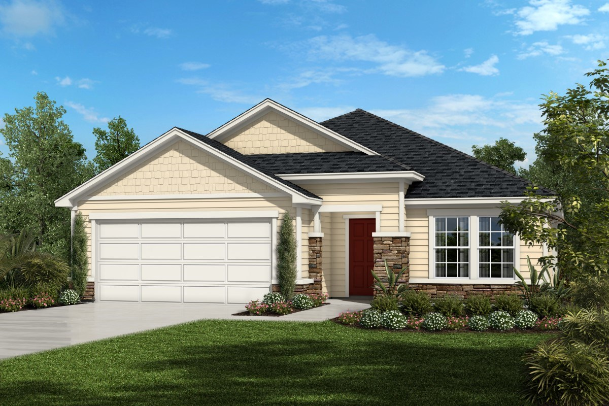 New Homes in Orange Park , FL - Forest Hammock at Oakleaf Plantation The Lennon