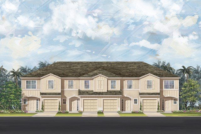 New Homes in Ormond Beach, FL - 4 plex