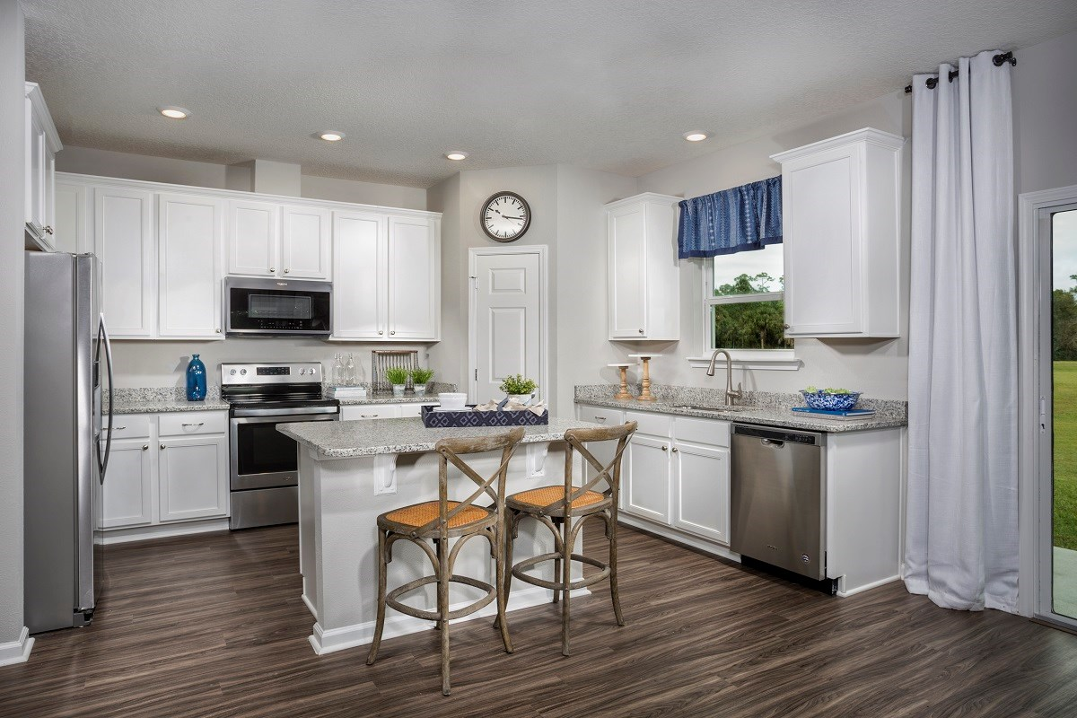 New Homes in Ormond Beach, FL - Gardens at Addison Oaks The Camara Kitchen