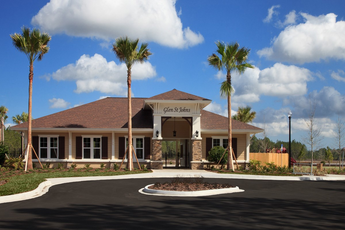 New Homes in St. Johns County, FL - Glen St. Johns Clubhouse