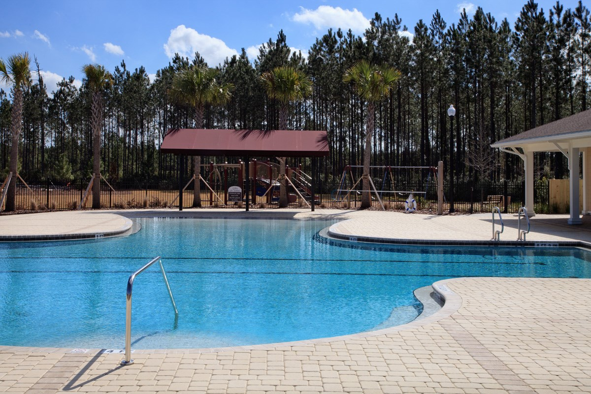 New Homes in St. Johns County, FL - Glen St. Johns Pool