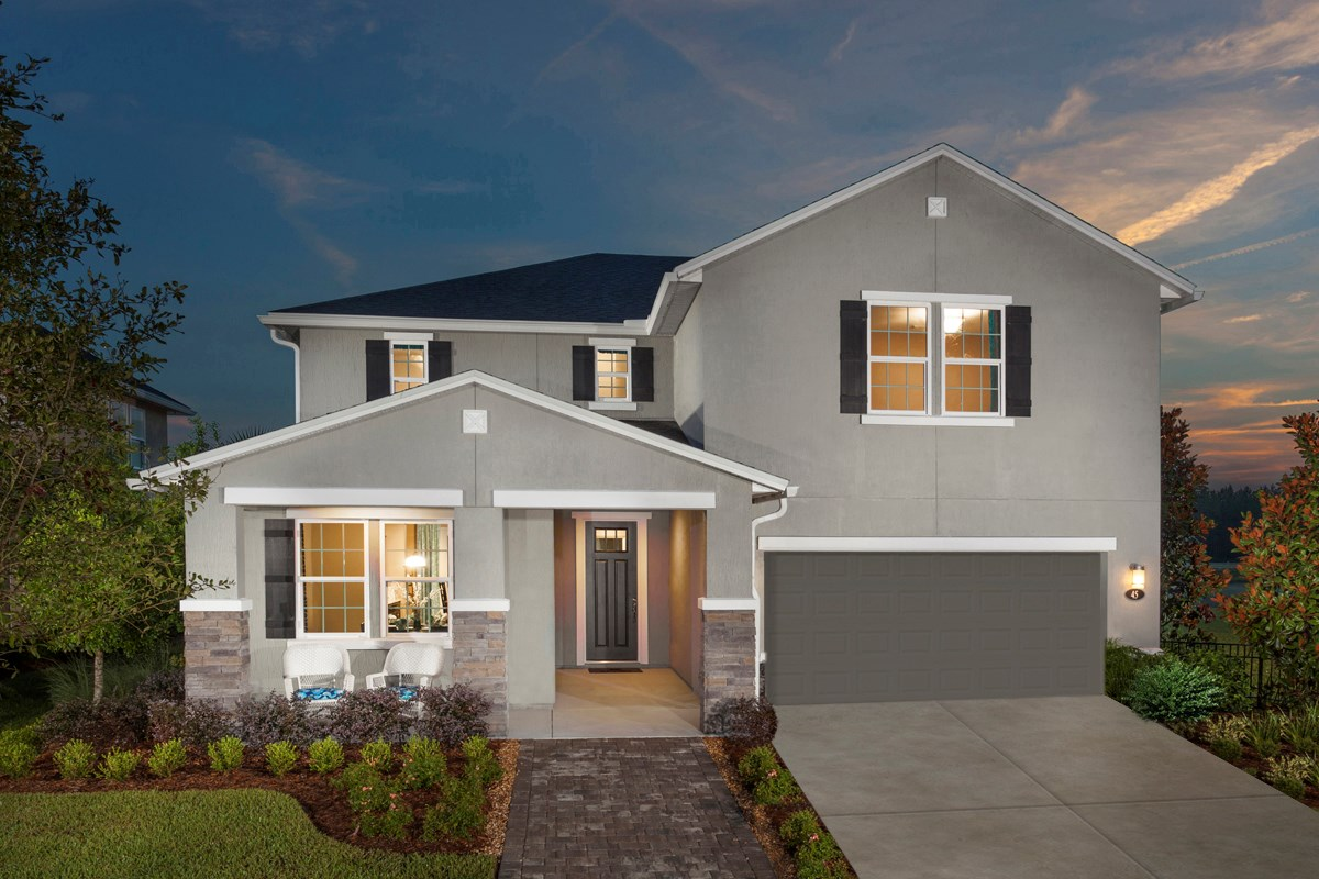 New Homes in St. Johns, FL - The Crossings at Glen St. Johns The Hawthorne