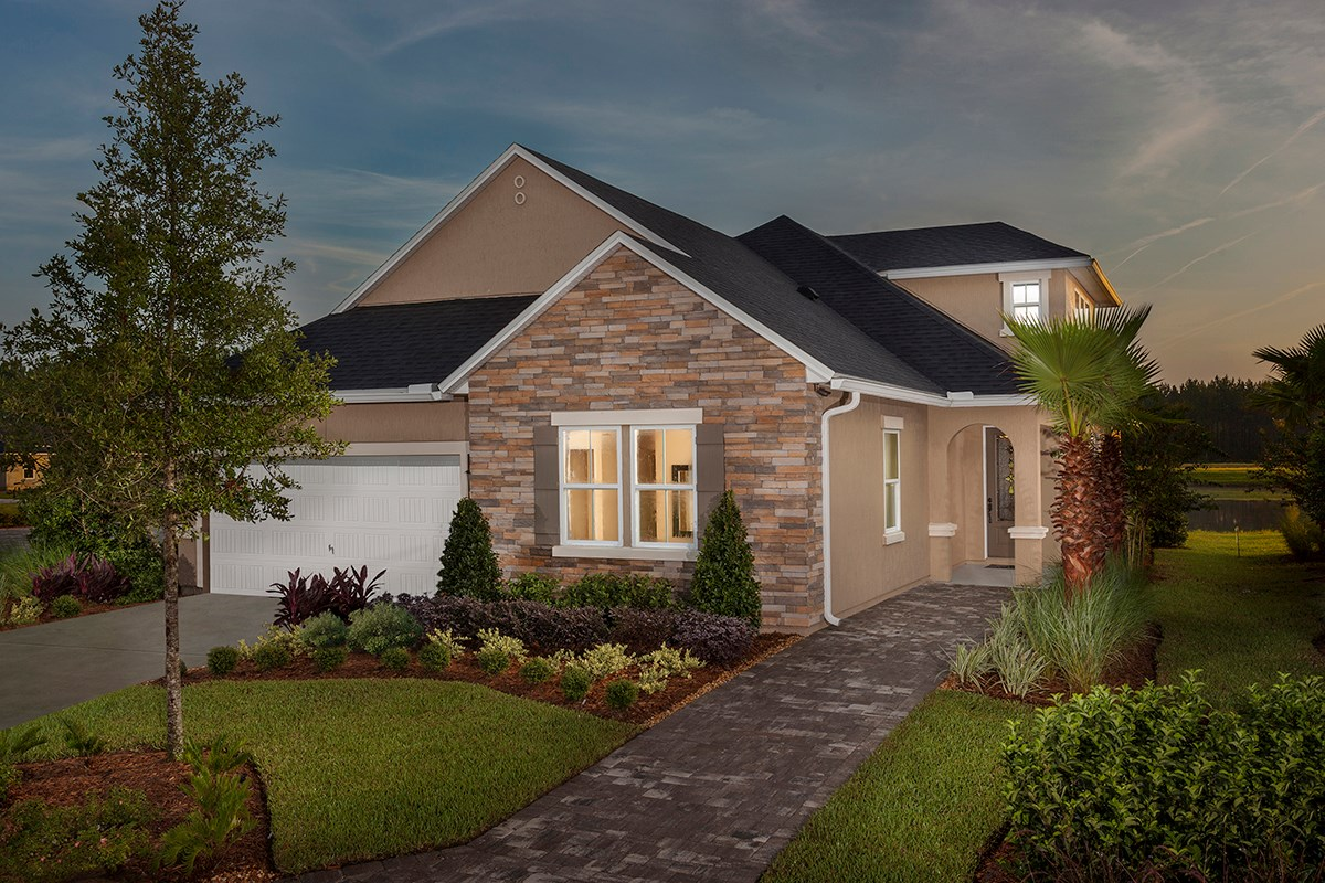 New Homes in St. Johns, FL - The Crossings at Glen St. Johns The Portland
