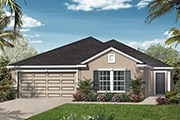 New Homes in St. Johns, FL - The Portland