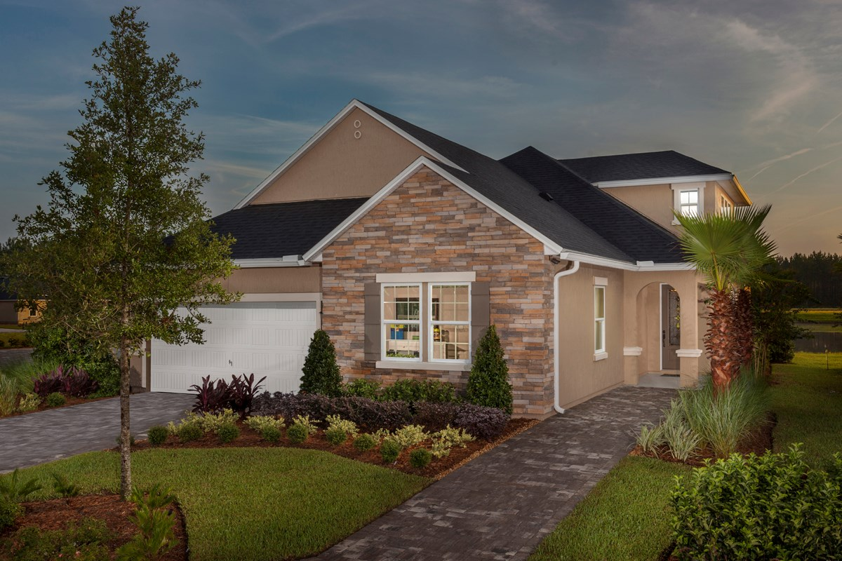 New Homes in St. Johns County, FL - Glen St. Johns The Portland Model