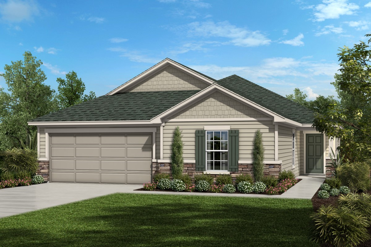 New Homes in St. Johns County, FL - Glen St. Johns The Portland - Shingle