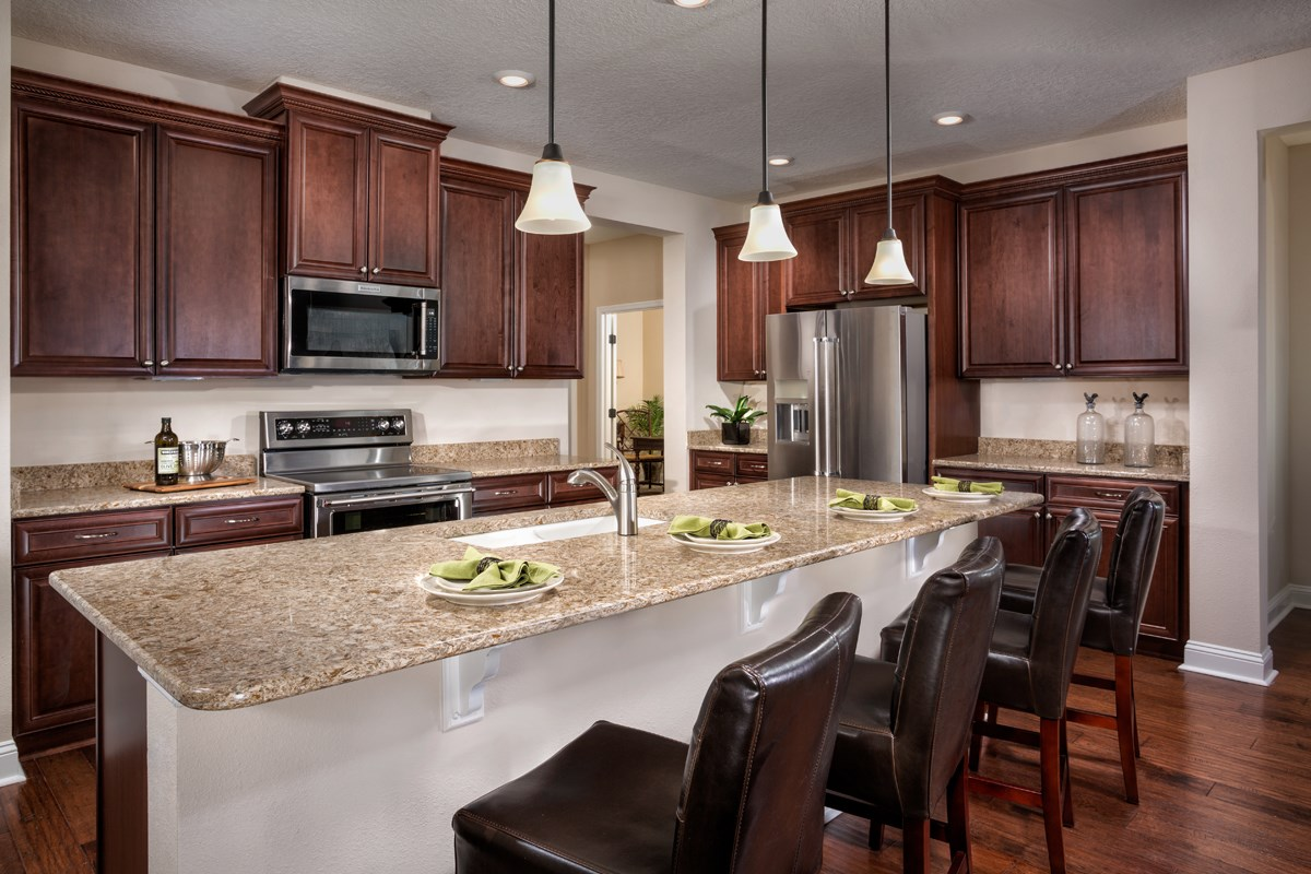 New Homes in St. Johns, FL - Glen St. Johns The Portland Kitchen