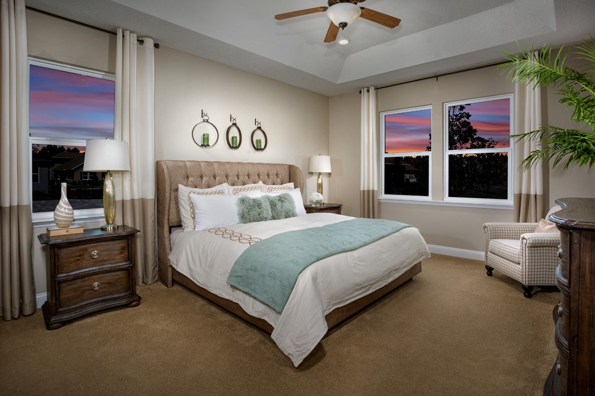 New Homes in St. Johns, FL - Glen St. Johns The Portland Master Bedroom