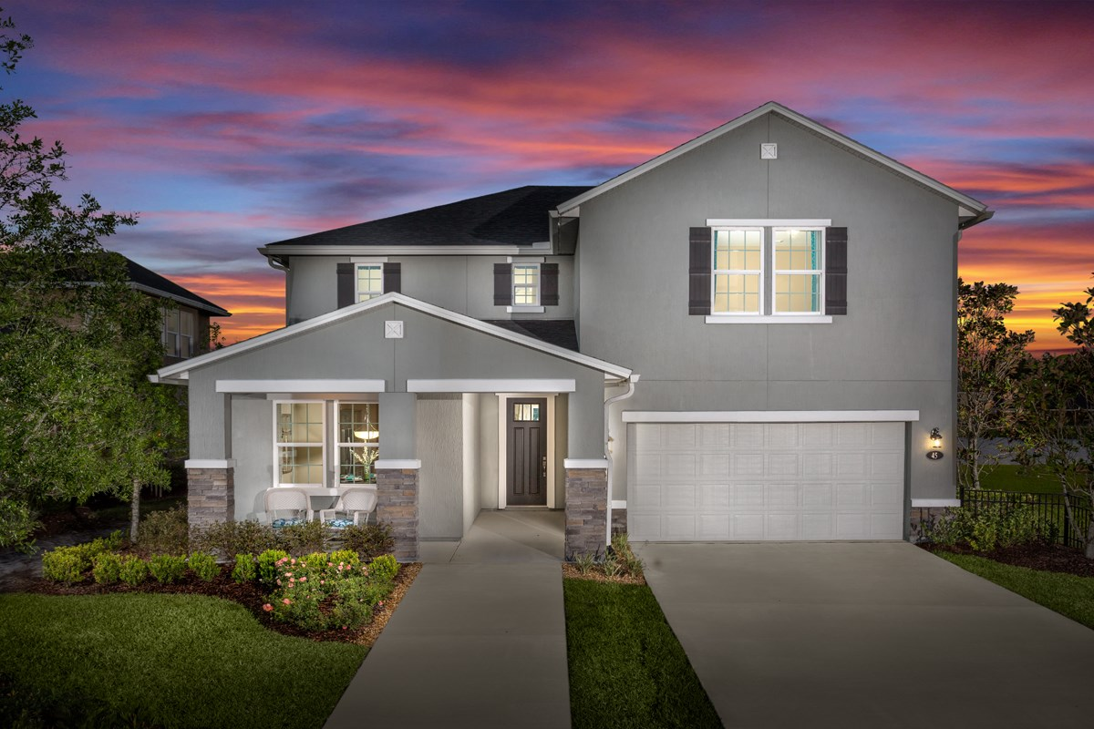 New Homes in St. Johns County, FL - Glen St. Johns The Hawthorne Model