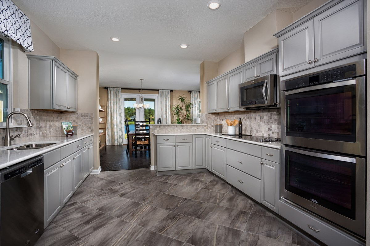 New Homes in St. Johns County, FL - Glen St. Johns The Hawthorne Kitchen
