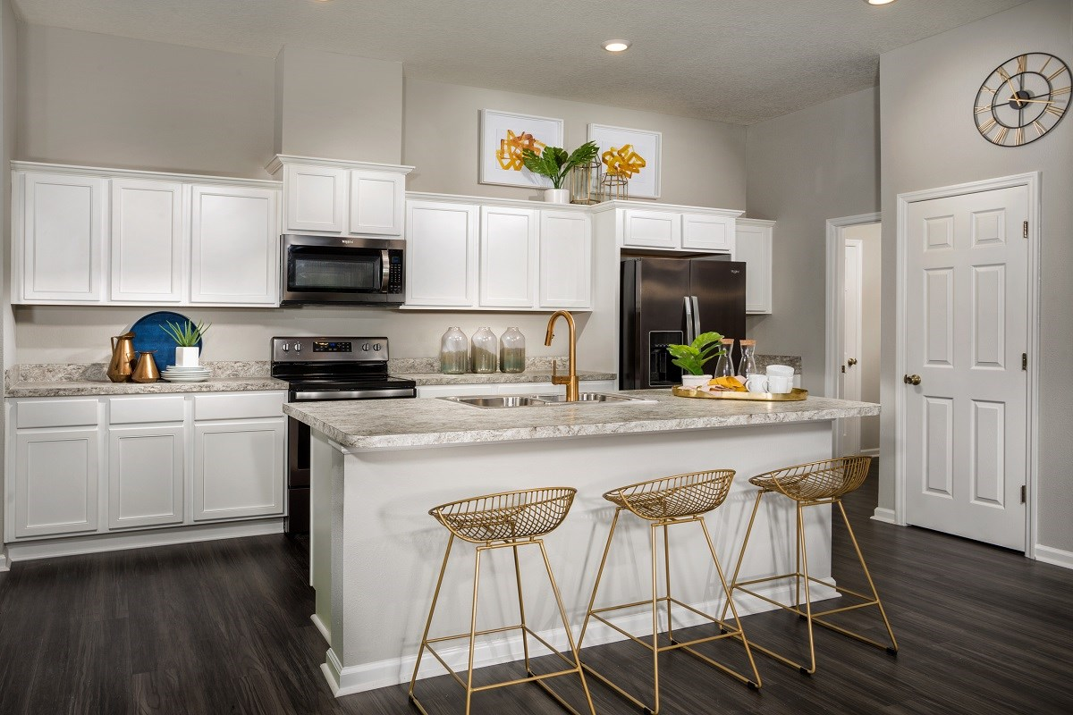 New Homes in Jacksonville, FL - Greene Meadows The Dalton Kitchen