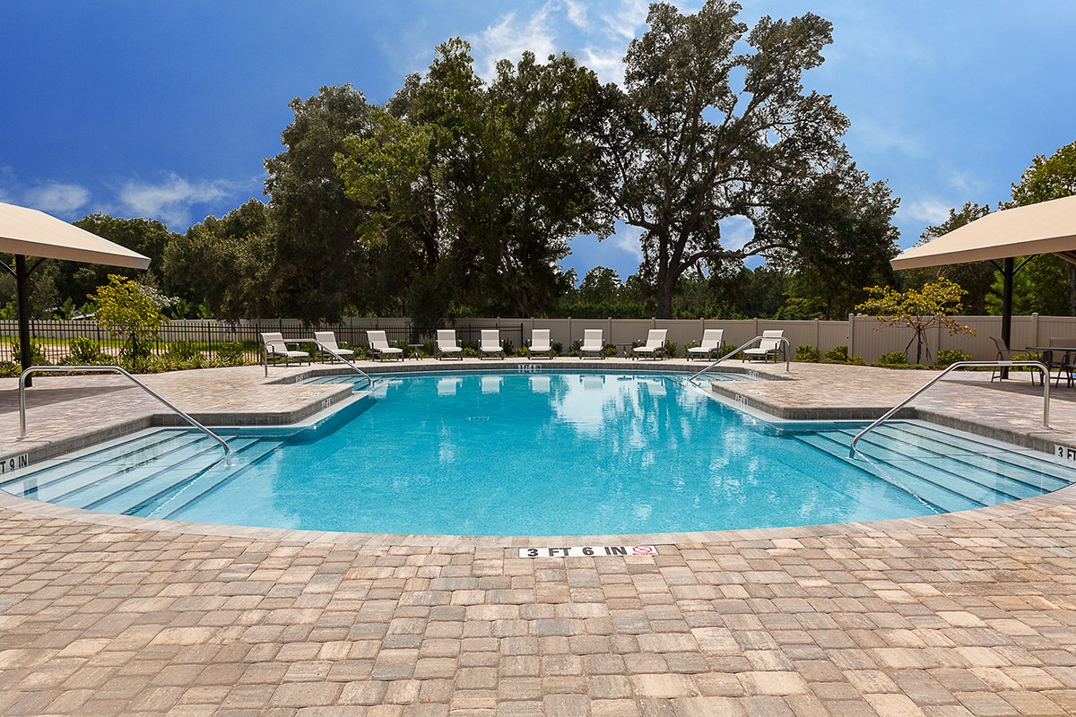 New Homes in St. Johns, FL - Heritage Oaks Community Pool