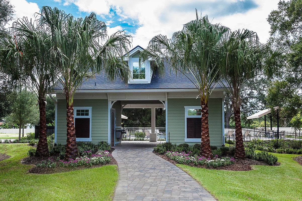 New Homes in St. Johns County, FL - Heritage Oaks Community Amenity Center